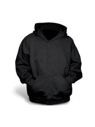Gildan Youth Pullover Hoodie - Black
