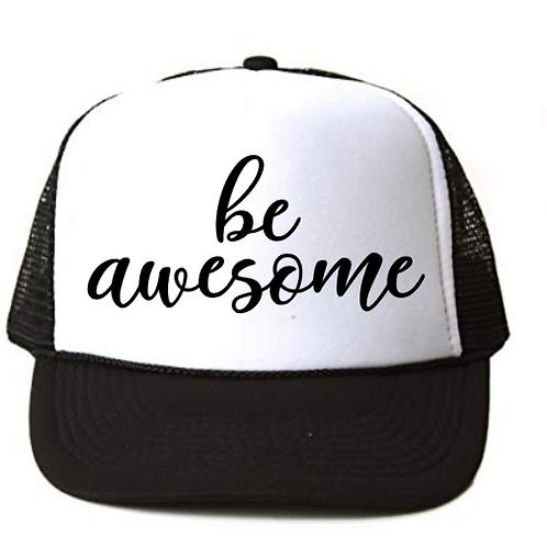 Foam Trucker Hats: be awesome