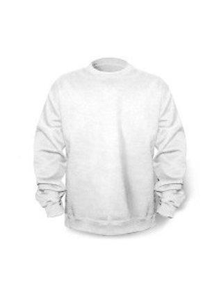 Gildan Crew Neck Fleece - white