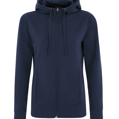 ATC Game Day Fleece Full Zip Hooded Ladies Sweatshirt