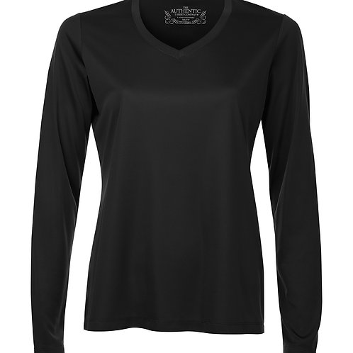 ATC Ladies V-Neck Long Sleeve Dry Fit Tee