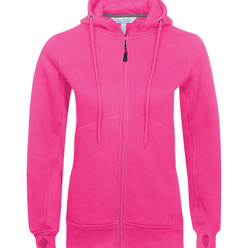 ATC Pro Fleece Full Zip Hooded LadiesSweatshirt