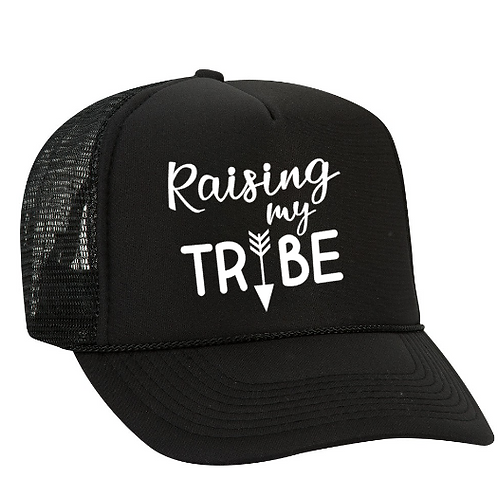 Foam Trucker Hats: Raising my TRIBE