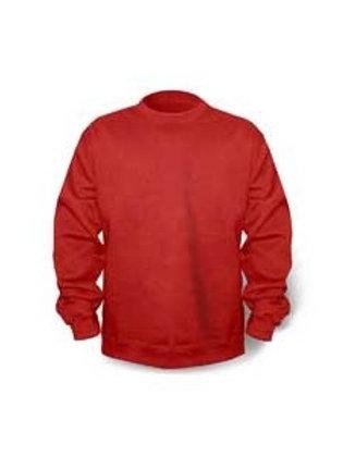 Gildan Crew Neck Fleece - red