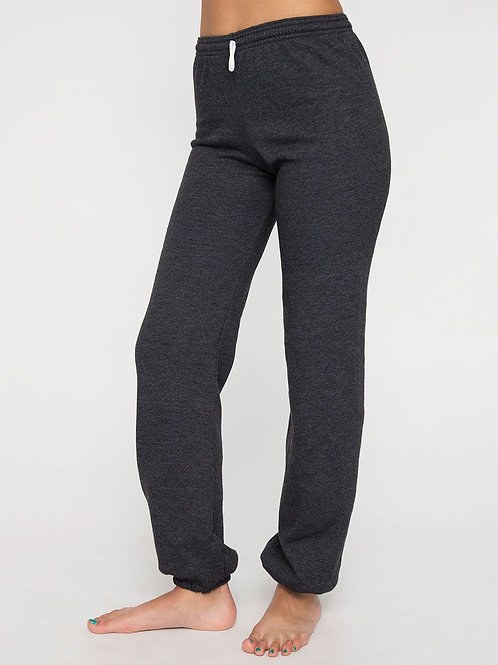 American Apparel Flex Fleece Sweatpants - Dk Grey
