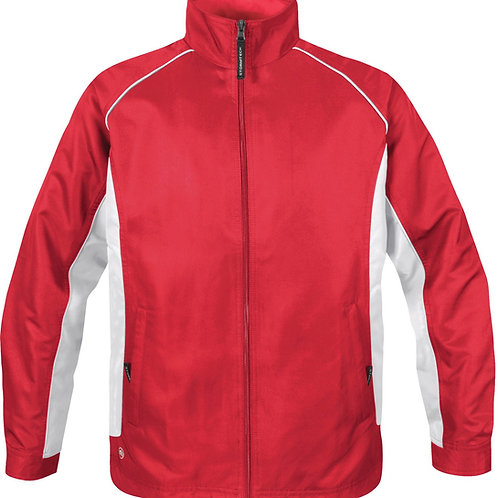 Stormtech Youth Twill Track Jacket TSX - Red