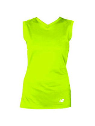 NB NDurance Ladies Work-Out Tee - safety green
