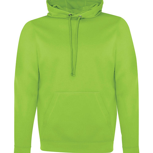 ATC GAME DAY™ FLEECE HOODED SWEATSHIRT F2005 -lime shock