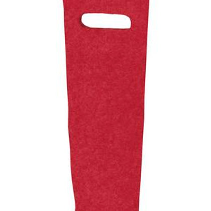 ATC Felt Wine Bottle Tote - Red