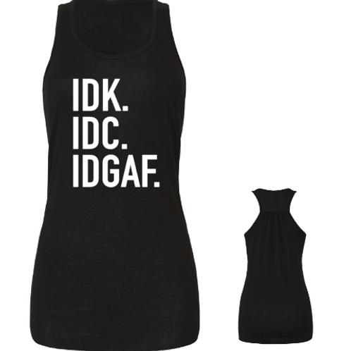 IDGAF Ladies Tank