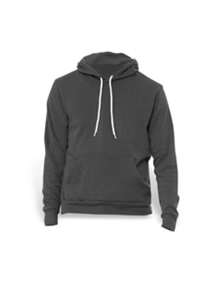 Bella + Canvas Fleece Pullover Hoodie - dark grey