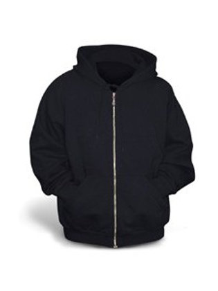 copy of Gildan Youth Full-Zip Hoodie - Black