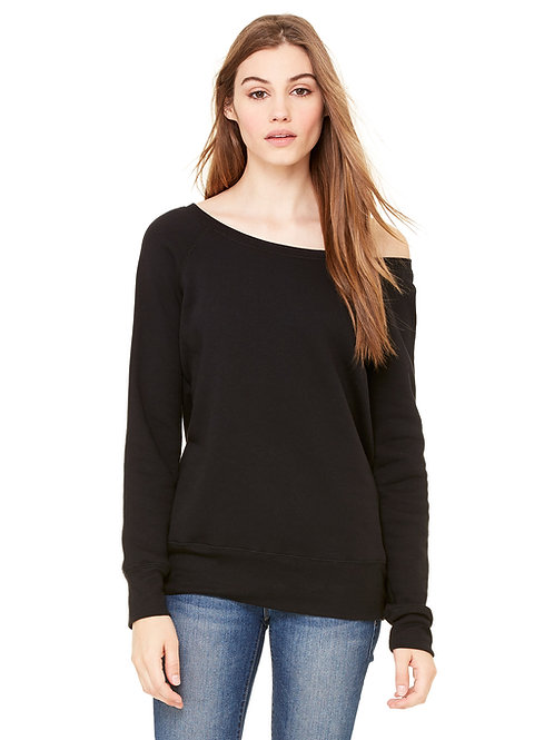 Bella + Canvas Sponge Fleece Wideneck Sweatshirt