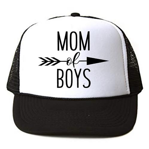 Foam Trucker Hats: MOM of BOYS