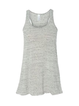 Bella + Canvas Flowy Racerback Tank - athletic heather
