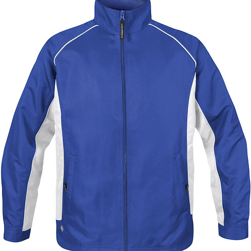 Stormtech Youth Twill Track Jacket TSX - Royal