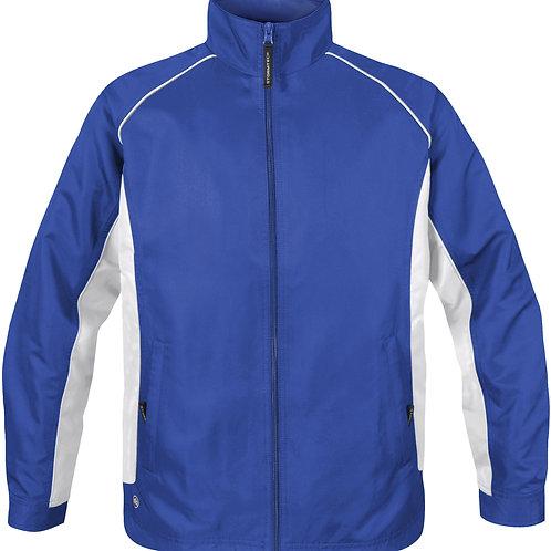 Stormtech Youth Twill Track Jacket TSX - Royal