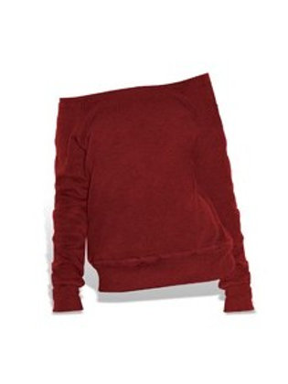 Bella + Canvas Slouchy Wideneck Sweatshirt
