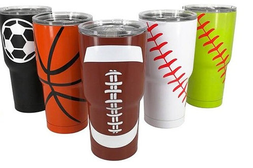 Sport Tumblers, 30oz Softball