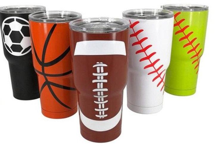 fce33b70b57 Sport Tumblers, 30oz Baseball