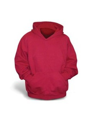 Gildan Heavy Weight Unisex Hoodie - red