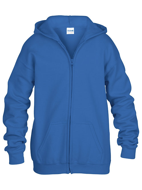Gildan Full-Zip Youth Hoodie