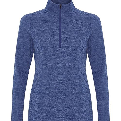 ATC Dynamic Heather Fleece 1/2 Zip Ladies Sweatshirt
