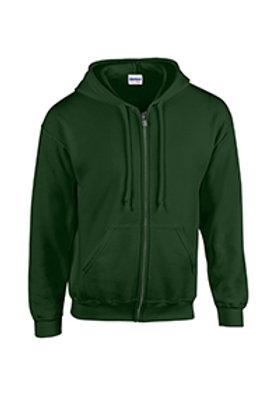 Gildan Full-Zip Hoodie - greens