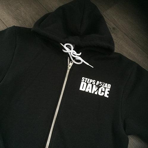 American Apparel Flex Fleece Full Zip Hoodie - Steps Ahead Dance