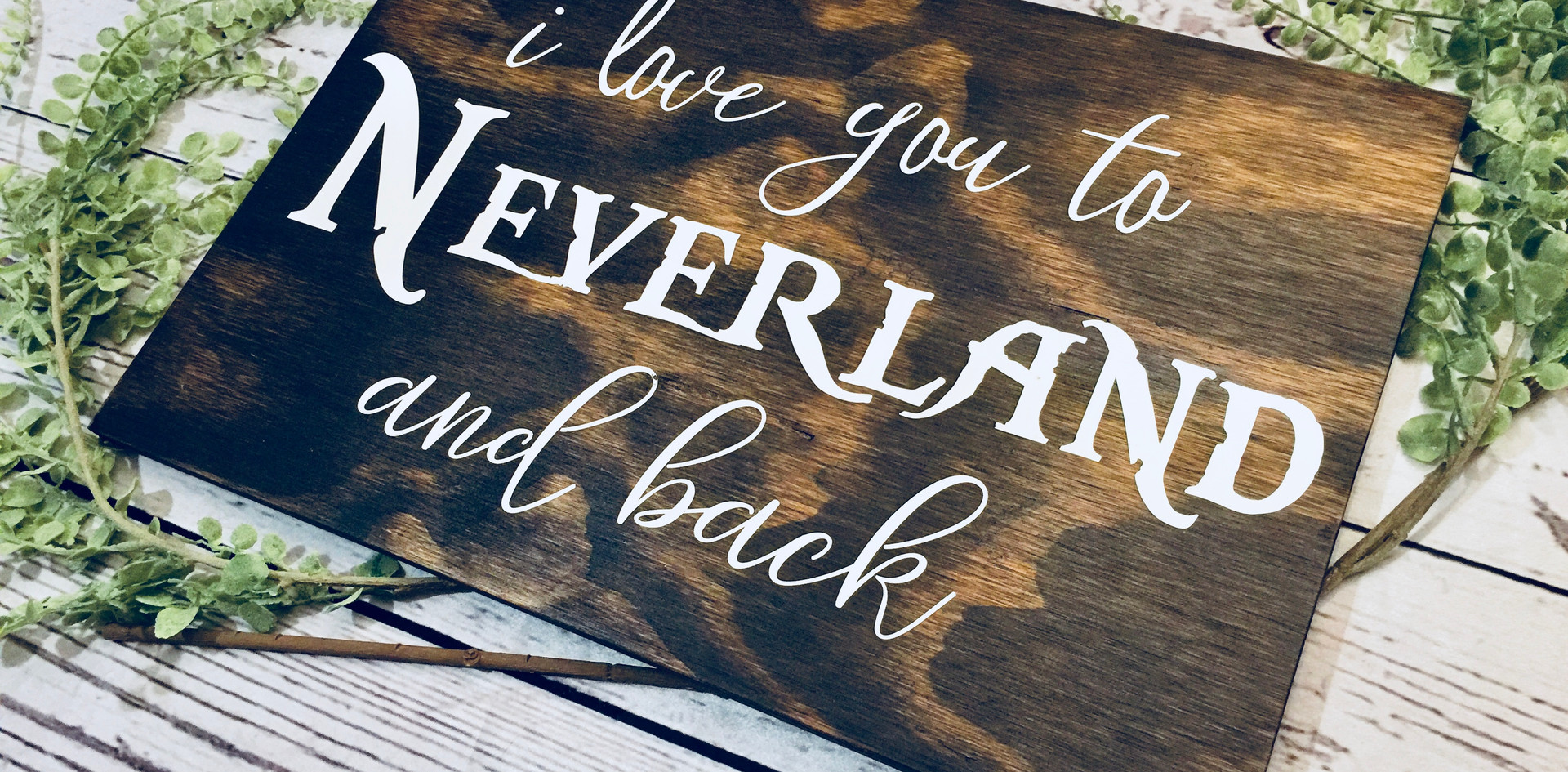 To Neverland & Back.