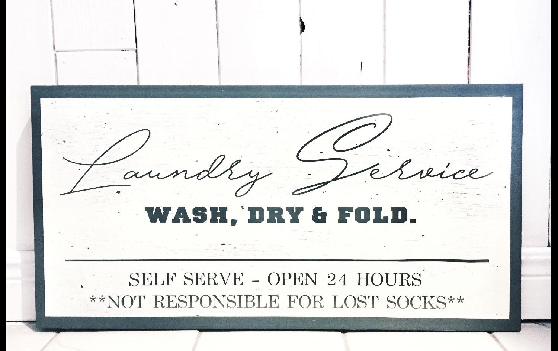 Laundry Service - Wash, Dry & Fold.