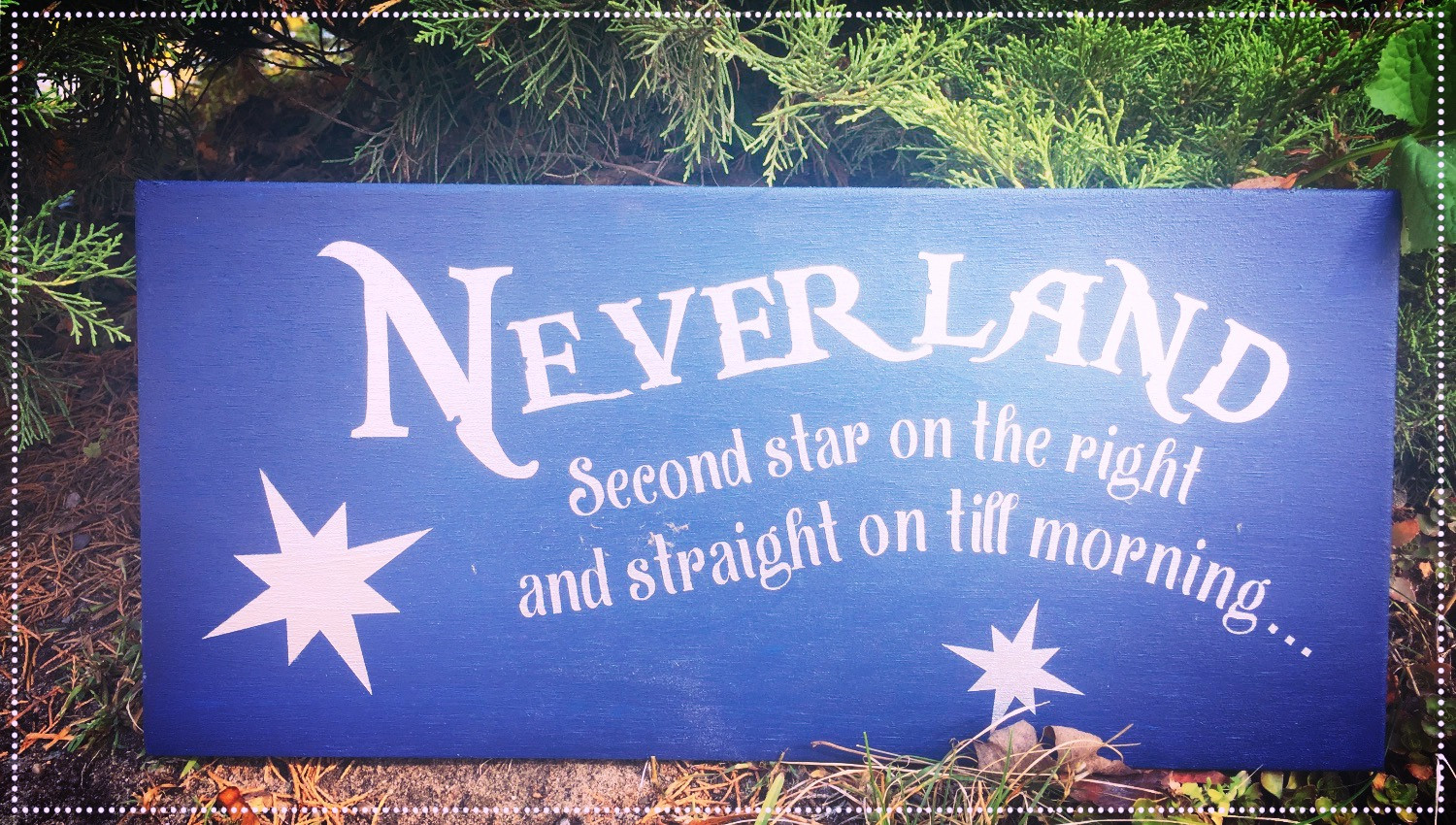 Neverland, Second Star On The Right.