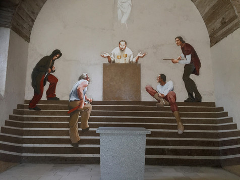 Mur Est - Assassinat de Thomas Beckett.j
