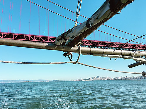 Passing under Golden Gate #1654