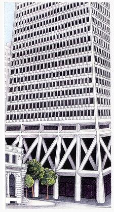 Pyramid Building perspective
