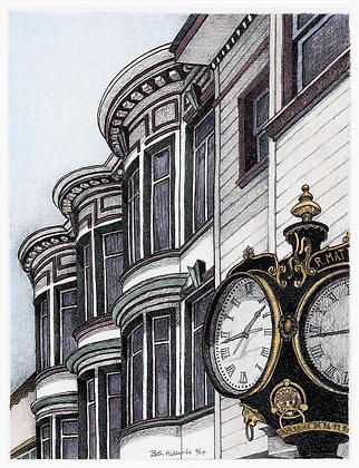 North Beach Clock