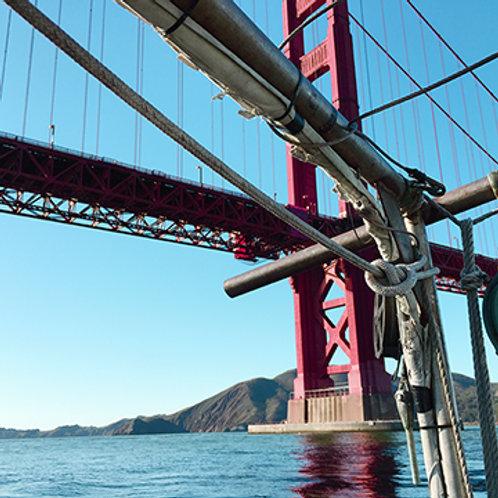 Passing under Golden Gate #1827
