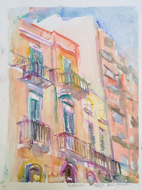 Bari's Balconies