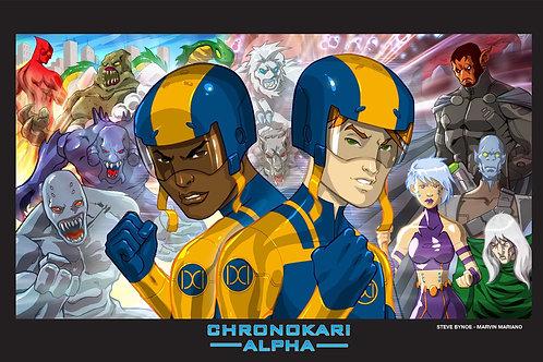 Chronokari Alpha: Time is Relative Poster A