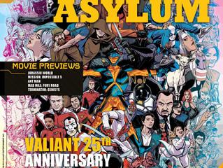 Comix Asylum Magazine Debuts New Format