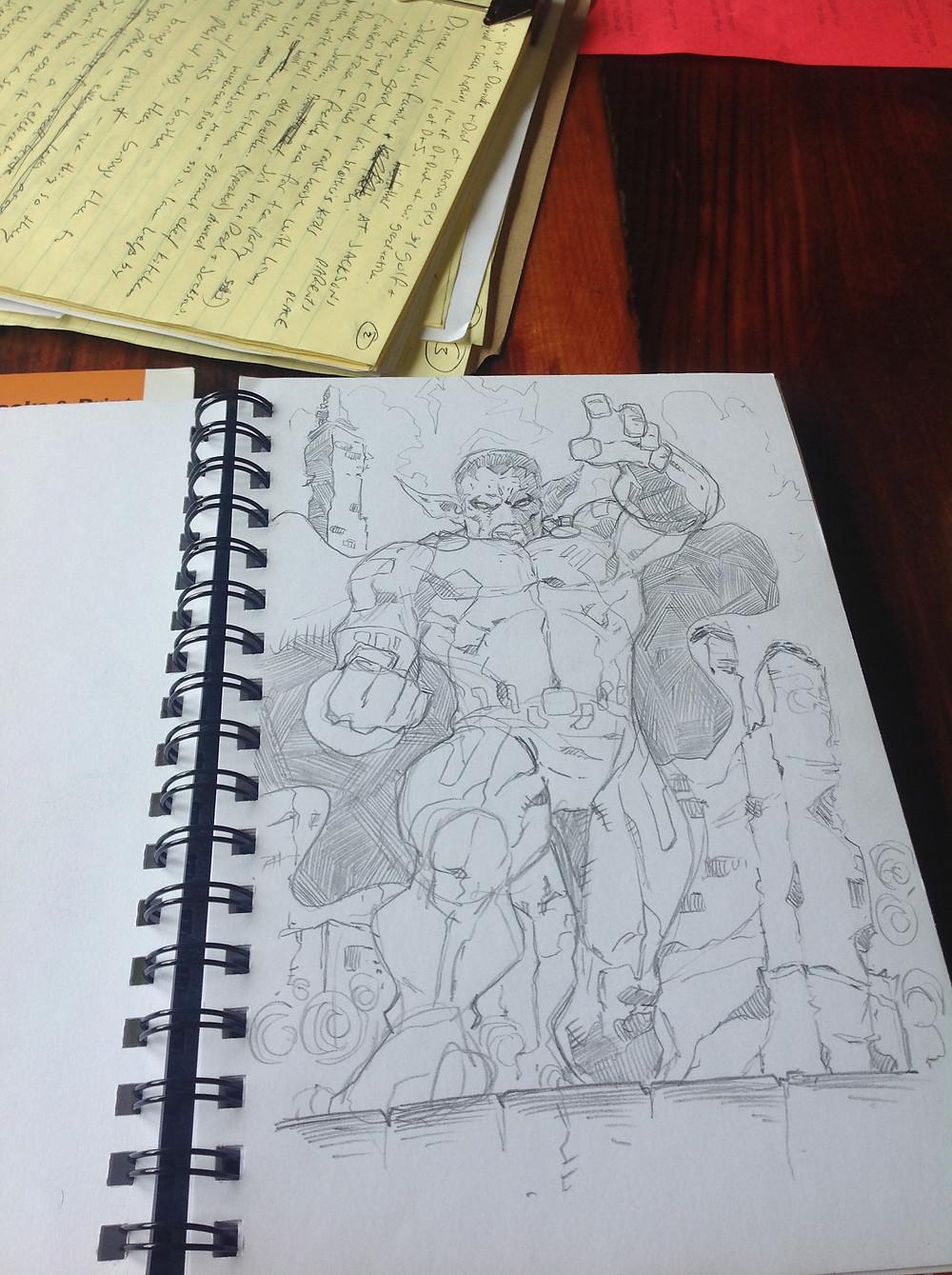 General N'Ruvos Sketch