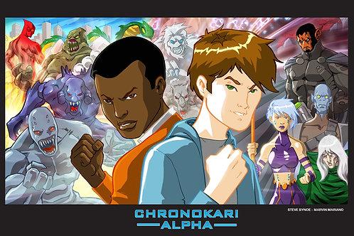 Chronokari Alpha: Time is Relative Poster B
