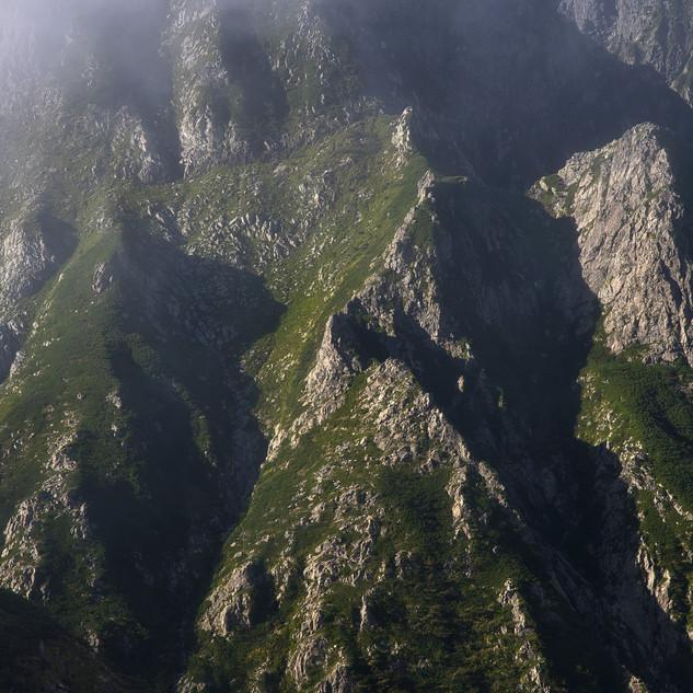 The core of Mt.Tsurugi