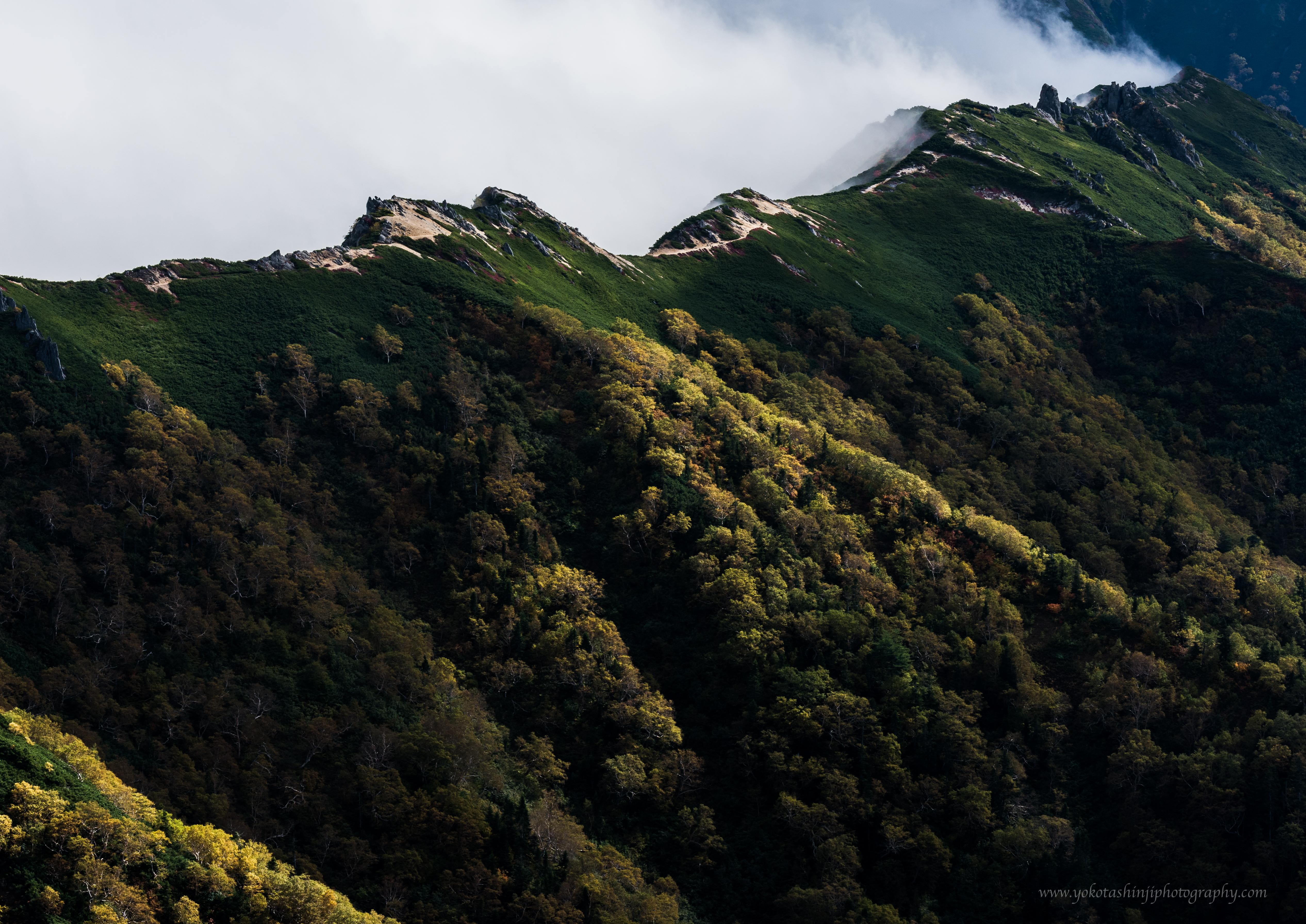 Mt Tsubakuro/燕岳