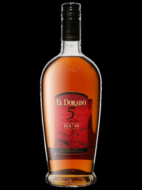 El Dorado 5 Yr 750ml