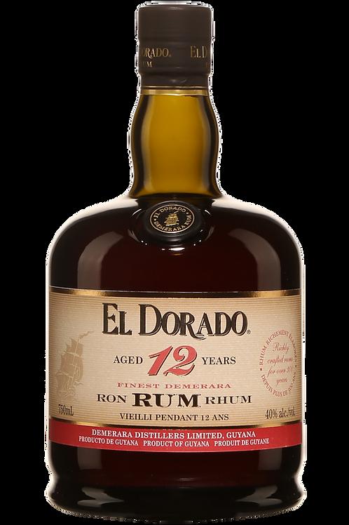 El Dorado 12 Yr 750ml