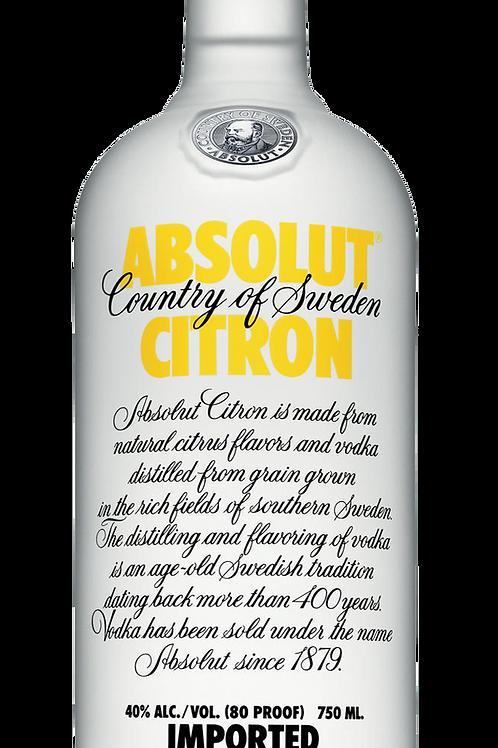 Absolut Citron 1L
