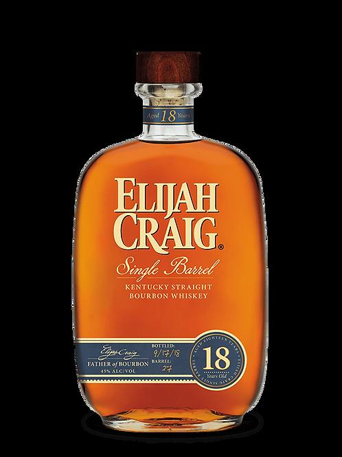 Elijah Craig 18 year 750 mL