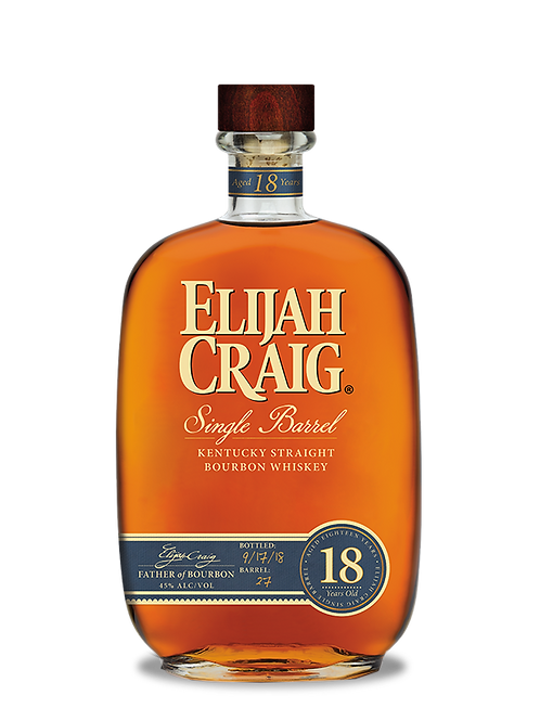 Elijah Craig 18 year 750ml