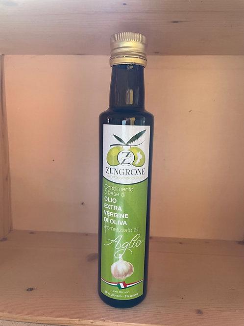Kalabresiche Oliven Öl mit Knoblauch Aroma 250 ml
